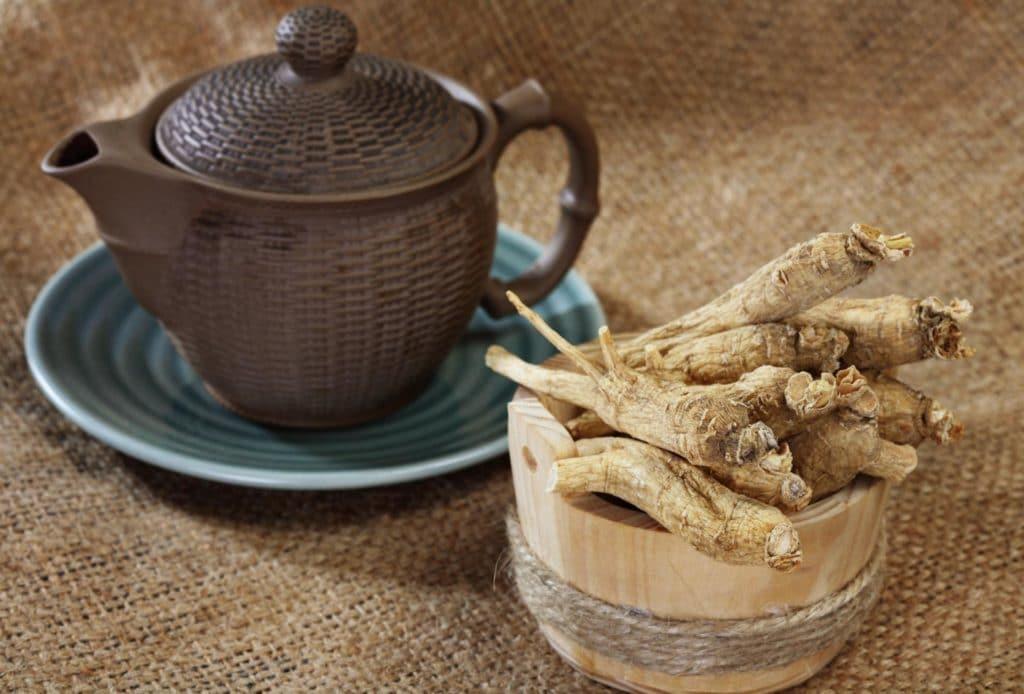 Чай с элеутерококком для потенции