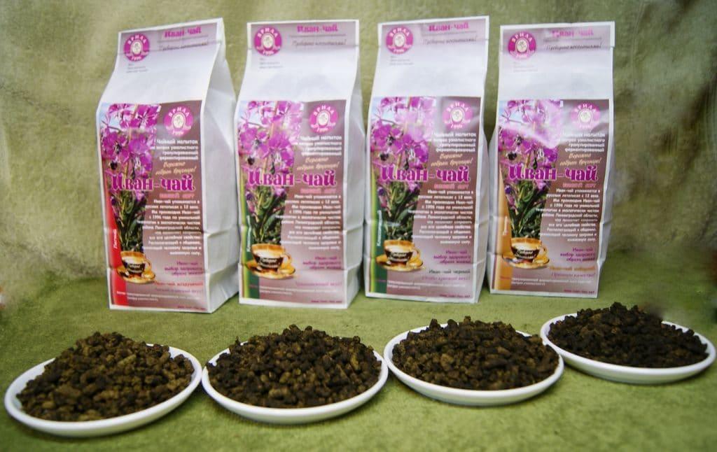 Иван-чай высушенный для потенции