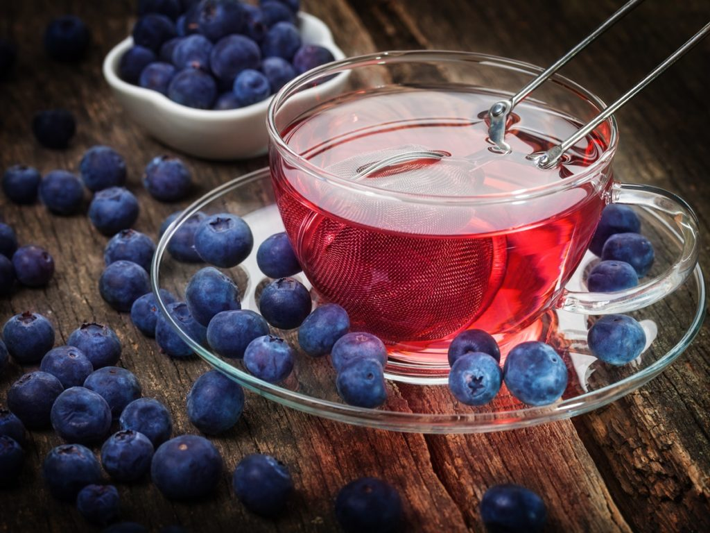 Чай с черникой для либидо