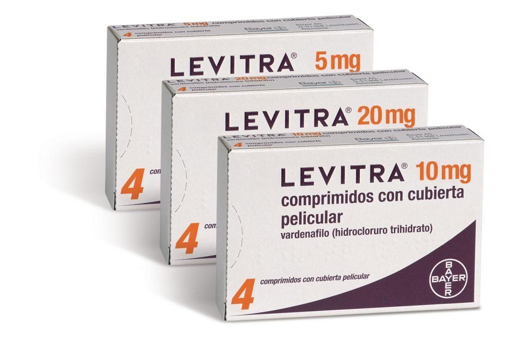 Таблетки Левитра для повышения потенции