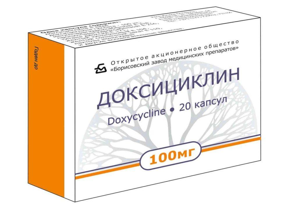 Доксициклин при инфекционном простатите