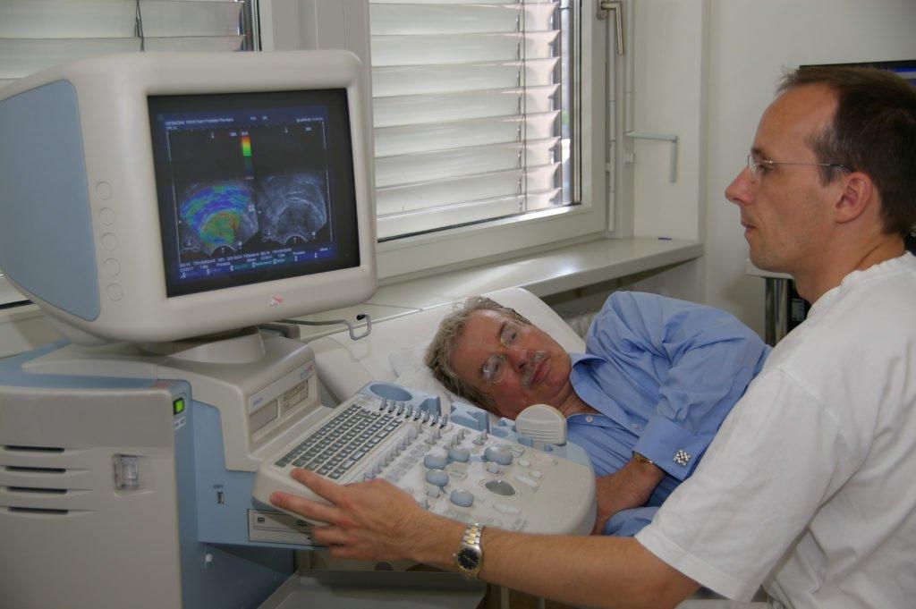 Диагностика простатодинии с помощью УЗИ