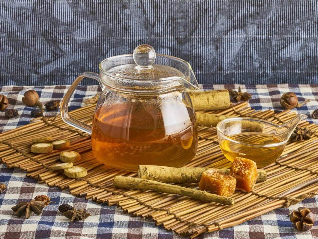 Лопух с медом при простатите