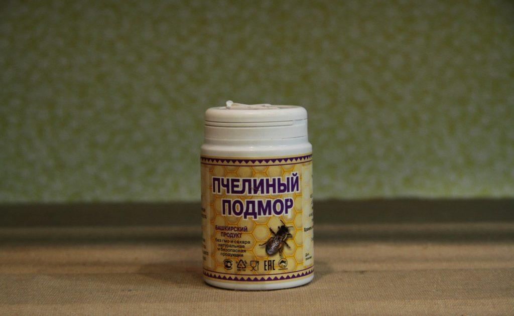 Аллергические реакции на пчелиный подмор