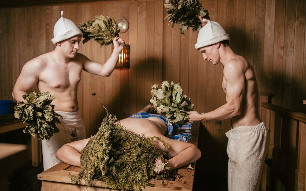 С мужиками в бане — img 12