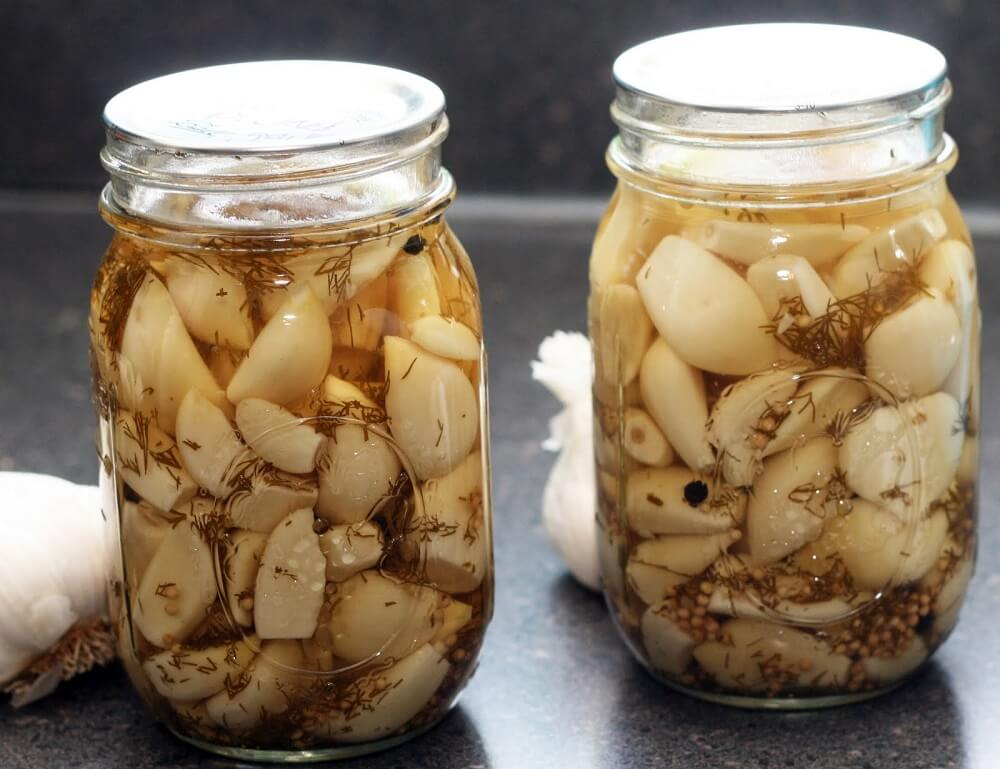 Настойки и отвары из чеснока