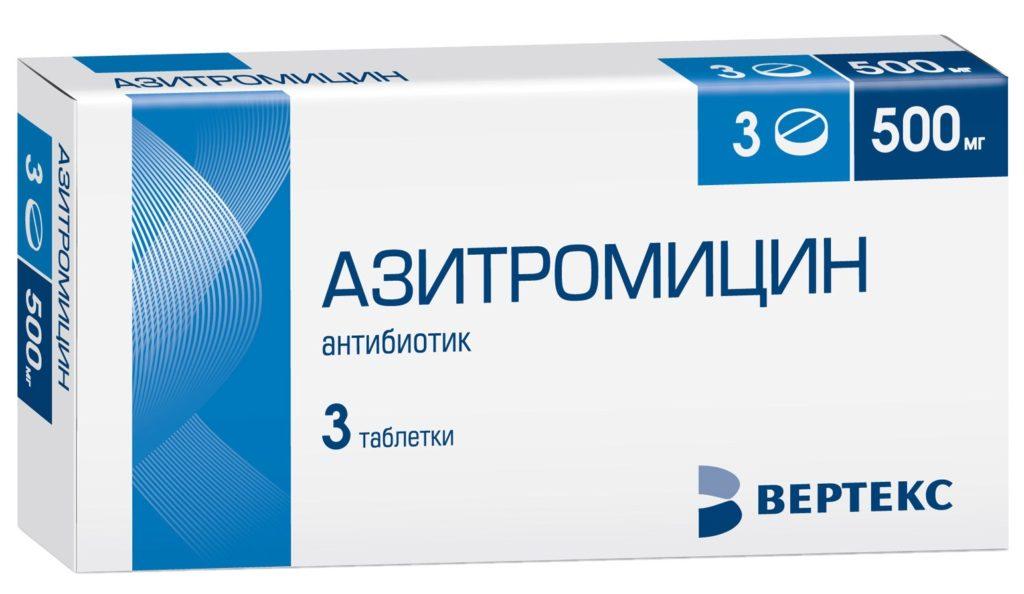 Азитромицин при простатите: особенности применения