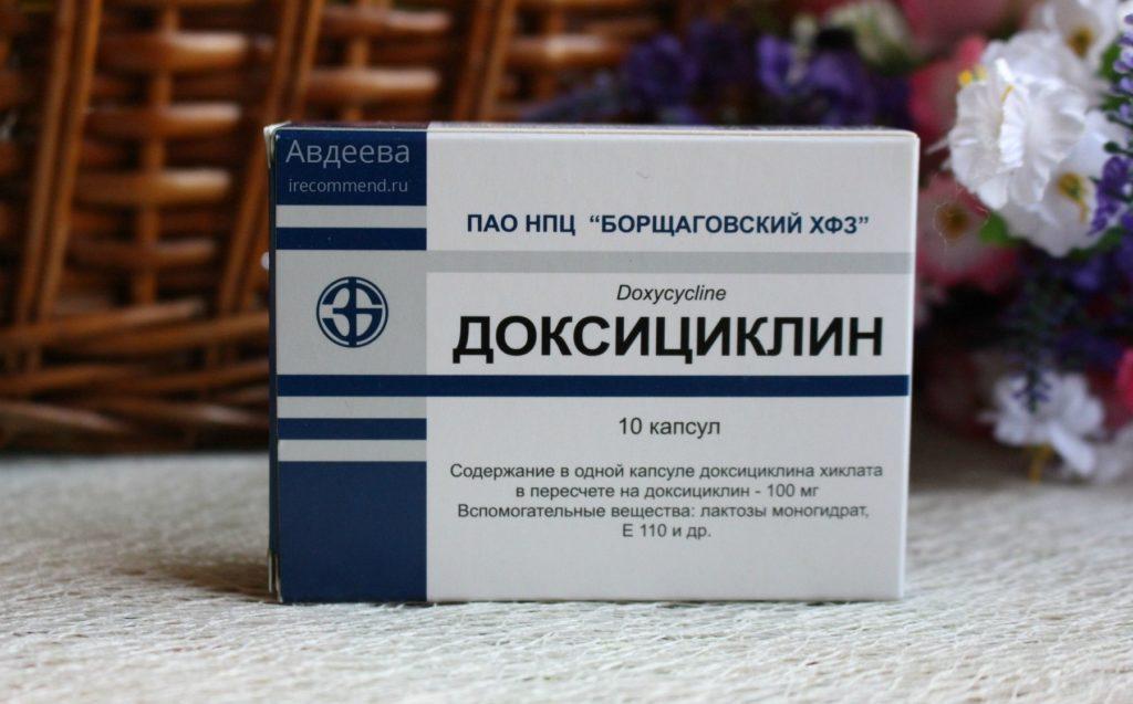 Доксициклин при простатите: отзывы мужчин о препарате и особенности применения