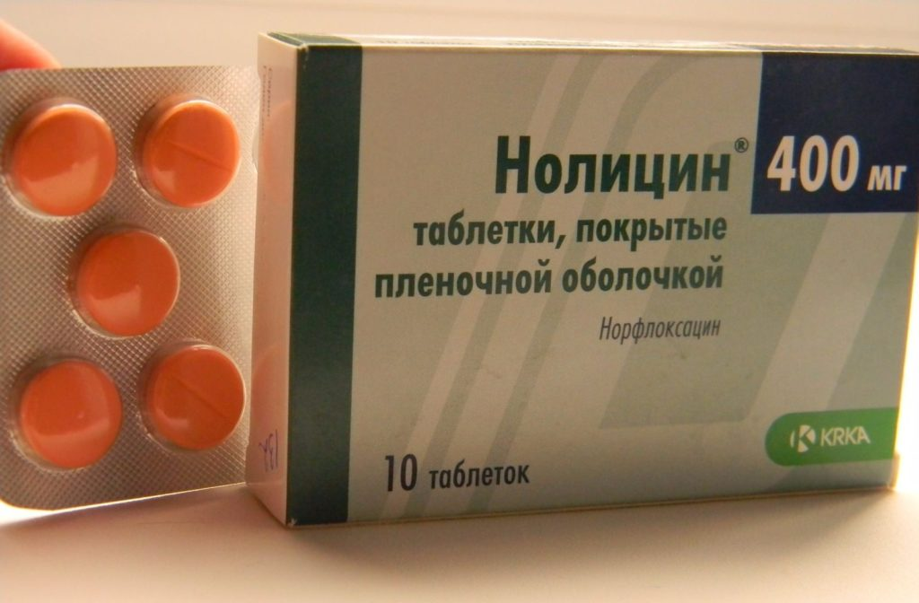 Нолицин при простатите: в каких случаях нужен антибиотик?