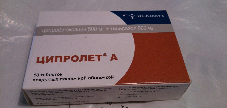 Ципролет при лечении простатита в 25 лет простатит