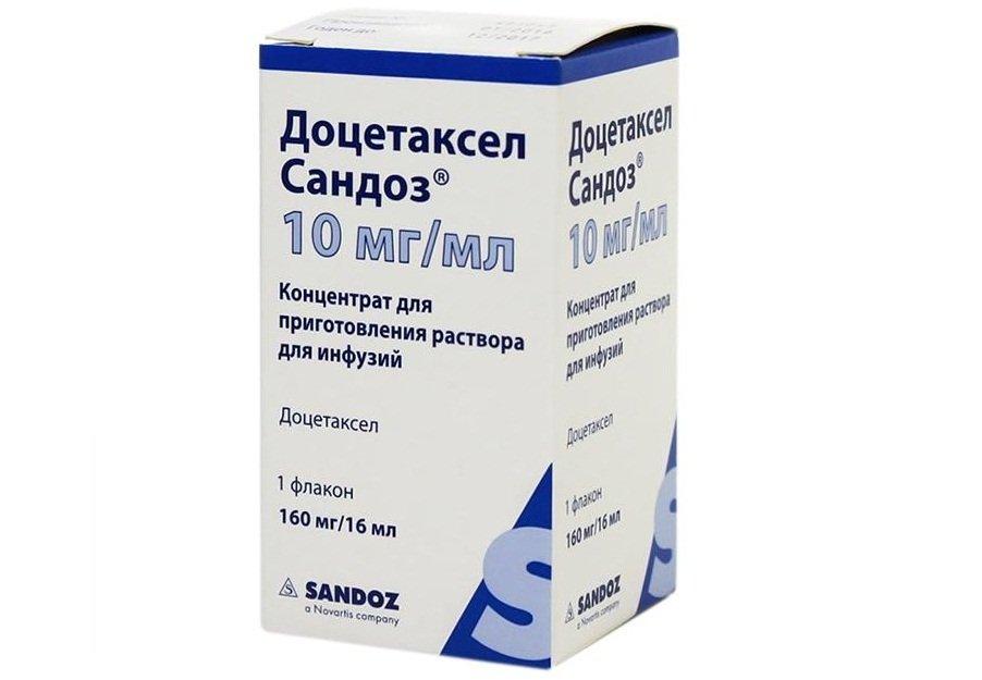 Лекарства для химиотерапии при раке простаты